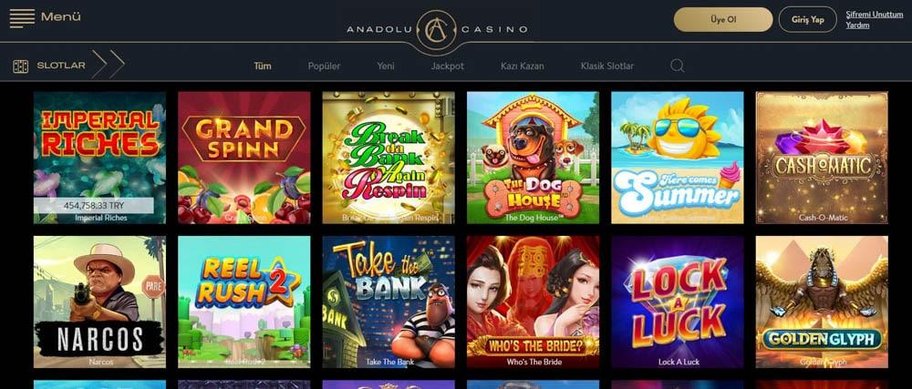 Anadolu Casino Guvenli Para Yatirma Yontemi